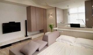 Compartimentare inteligenta pentru un apartament cu o camera