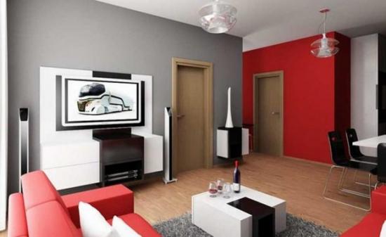 Amenajarea unui apartament modern cu o camera - stiluri diferite de design