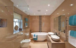 Aplice baie tavan cu led