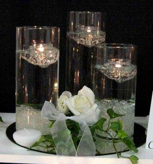 Decoratiune pentru o cina romantica