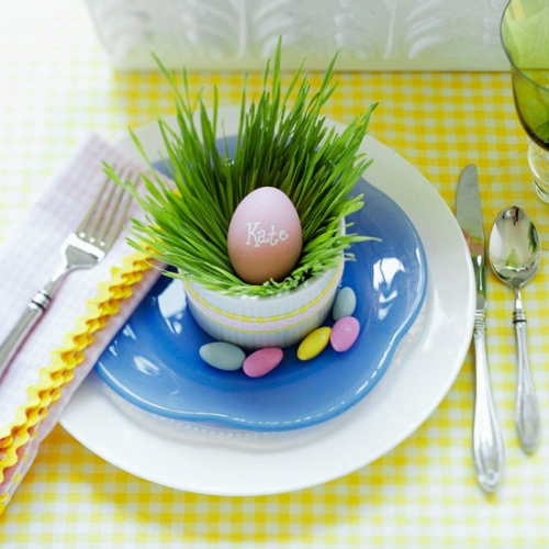 Idee de decor pentru masa de Paste