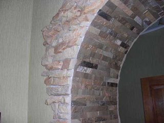 Bolta interioara cu piatra
