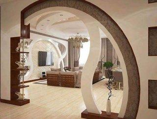 Arcada cu etajere