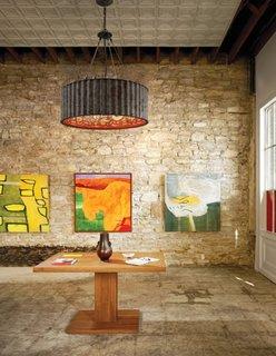 Tehnica noua de decorare pereti cu ajutorul artei vizuale abstracte