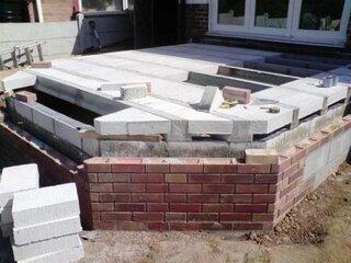 Realizare podea veranda
