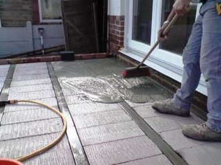 Turnare sapa podea veranda