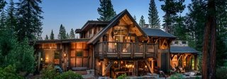 Model inedit de casa din lemn