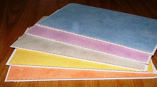 Culori panouri tavan din PVC