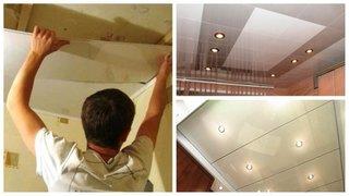 Panouri PVC pentru tavan bucatarie