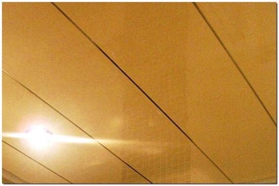 Tavan fals bucatarie din PVC