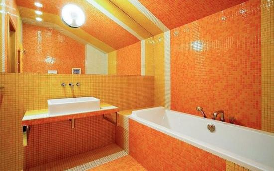 Baie portocaliu cu galben