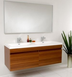 Mobilier chiuveta baie din lemn