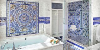 Gresie si faianta mozaic pentru baie