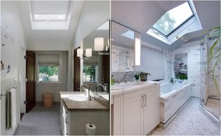 Cum proiectam baia din mansarda in functie de fereastra in acoperis