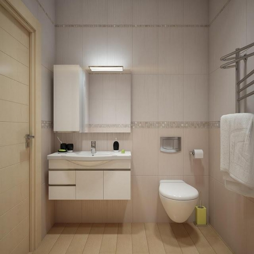 Images Of Small Bathroom Designs In India: Varianta De Amenajare A Unei Bai Micute