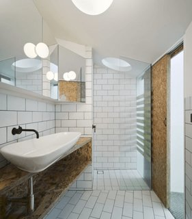 Masca chiuveta baie confectionata din PFL asortat cu usa