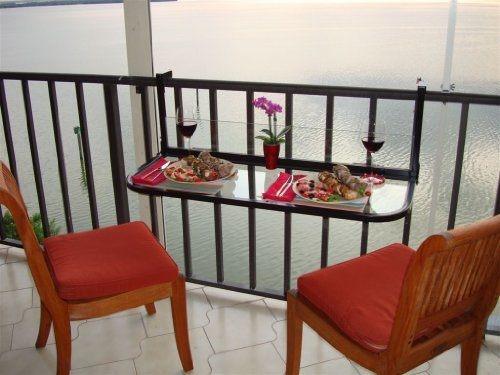 Amenajare minimalista a balconului