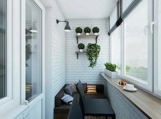 Amenajare balcon ingust de apartament
