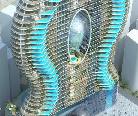 Complex hotelier cu piscine balcon