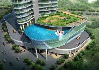 Hotel de lux cu piscina pe acoperis
