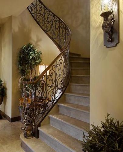 Balustrada fier forjat interior model elegant