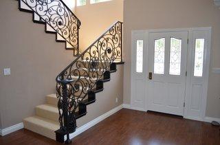 Balustrada scari interioare fier forjat