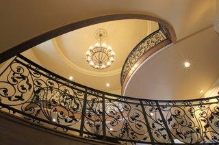 Modele scari interioare din fier forjat