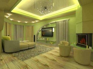 Iluminat interior living cu led