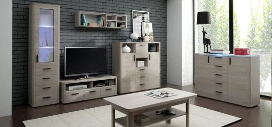 Mobila living cu comoda TV