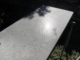 Blat din beton pentru birou