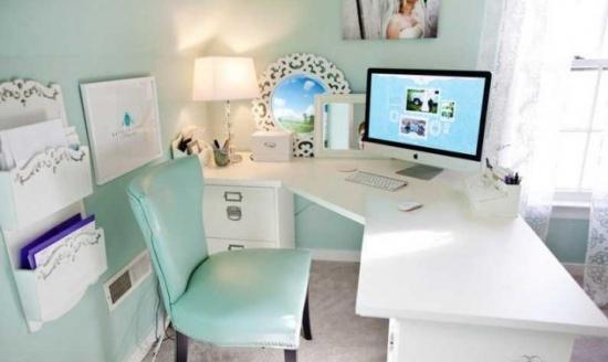 14 idei de birouri mici si frumoase de amenajat acasa