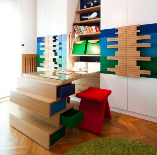 Design modern pentru un birou de copil