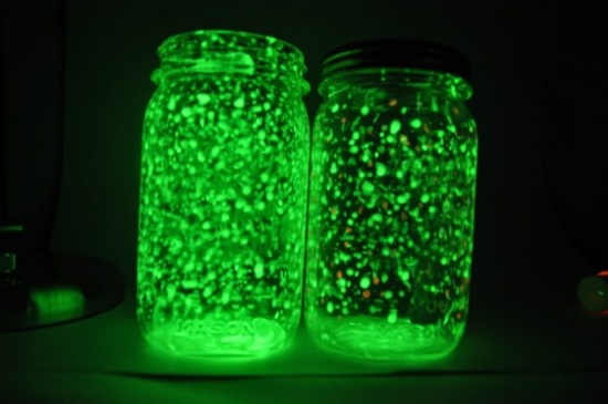 Modele de borcane confectionate acasa cu lumini in interior