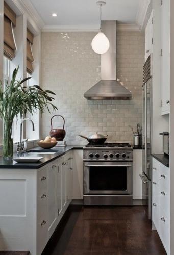 Amenajare moderna pentru bucatarie mica
