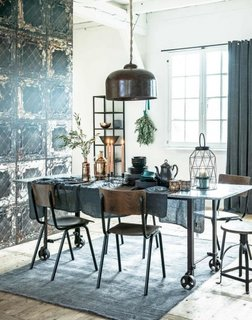 Dining in stil industrial
