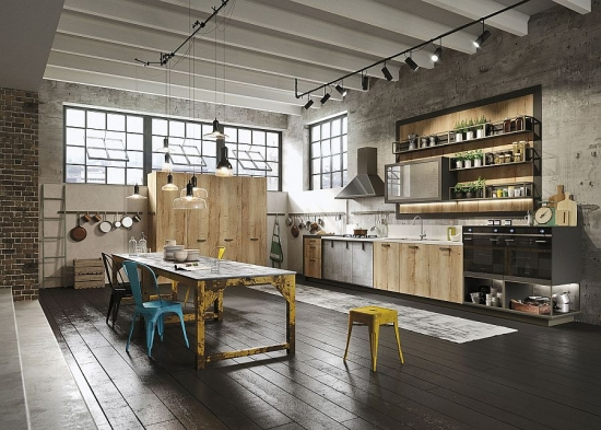 Loft in stil urban industrial