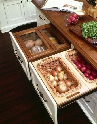 Sertar pentru depozitarea fructelor si legumelor