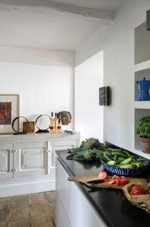 Bucatarie alba in stil Provence
