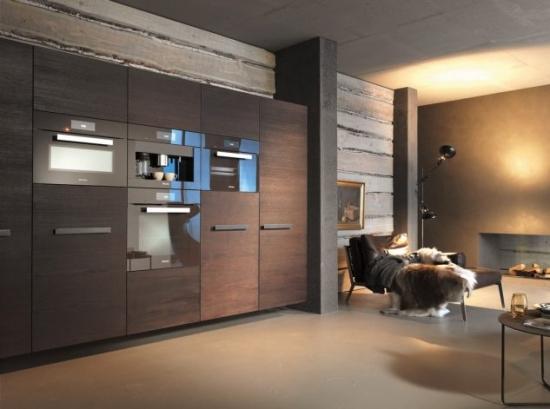 Mobilier modern bucatarie cu electrocasnice incorporate