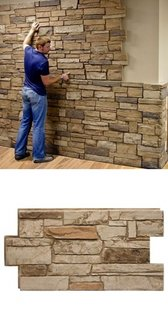Tehnica placare pereti cu piatra
