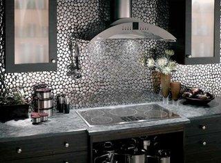 Faianta cu aspect metalizat pentru o bucatarie sofisticata