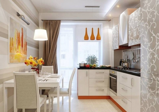 Idee amenajare bucatarie de apartament