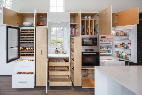 Modele de sertare verticale pentru mobila de bucatarie