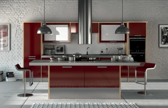Alegere culori moderne pentru bucatarie