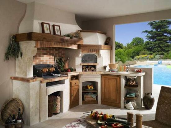 Bucatarii rustice de vara - sfaturi si idei pentru amenajari in aer liber