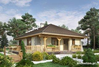 Casa parter cu design clasic