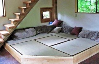 Canapea joasa in stil japonez
