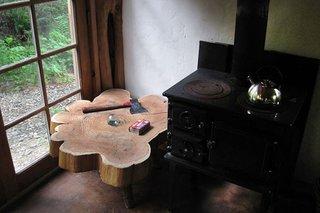 Soba pe lemne pentru gatit