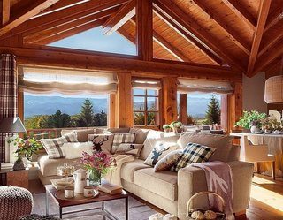Cabana de munte casa din lemn Spania
