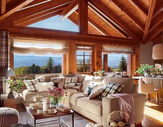 O cabana din lemn rustica, cu note romantice - Superba destinatie pentru vacanta perfecta